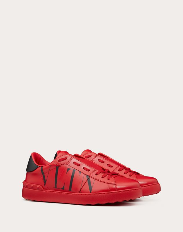 Open Sneaker with VLTN Print