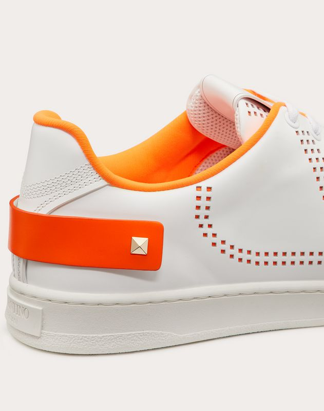 Sneakers BACKNET mit VLOGO Fluo