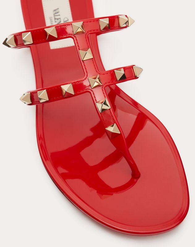 Rockstud Flat Rubber Sandal
