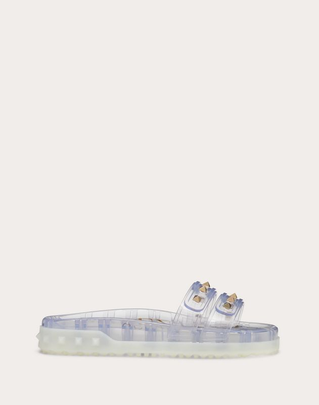 Rockstud Flat Rubber Slide Sandal