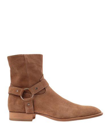 Купить Полусапоги и высокие ботинки от LEMARÉ цвет верблюжий