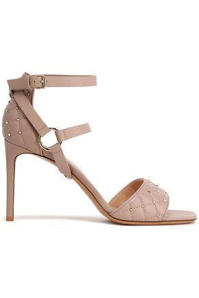 VALENTINO GARAVANI Rockstud Spike leather sandals