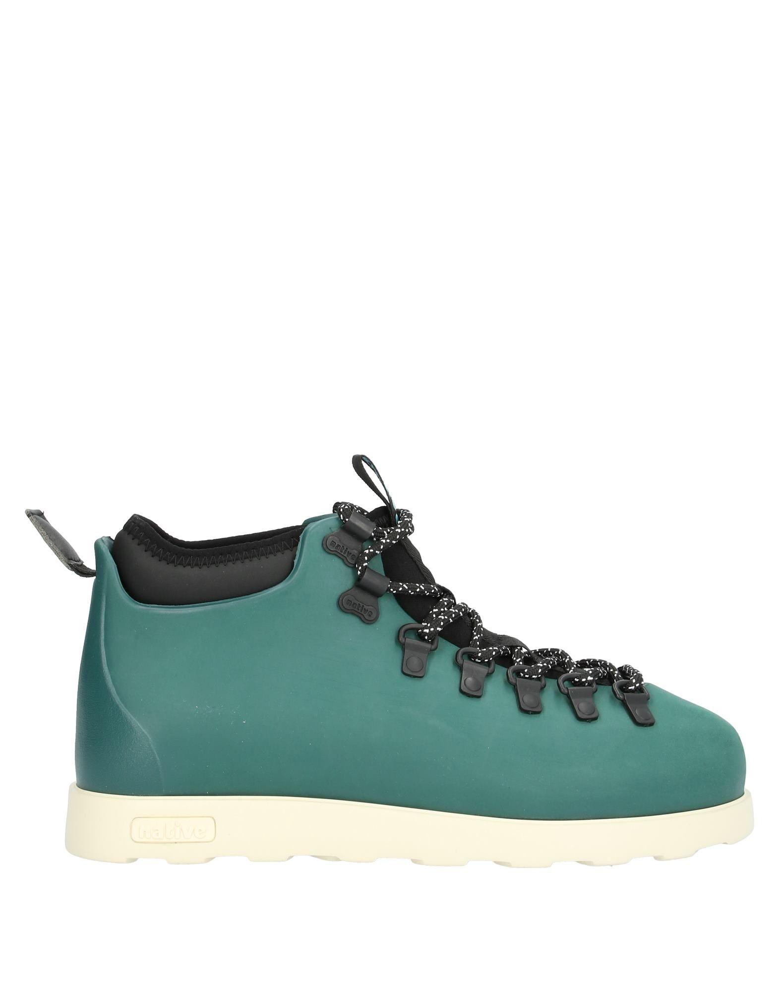 NATIVE Низкие кеды и кроссовки кеды кроссовки низкие native jefferson glass green shell white