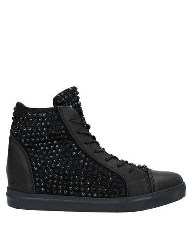 Фото - Высокие кеды и кроссовки от SOLIDEA черного цвета