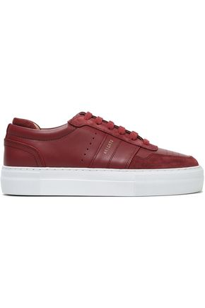 AXEL ARIGATO Leather and suede sneakers