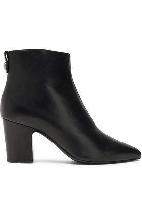 GIUSEPPE ZANOTTI Leather ankle boots