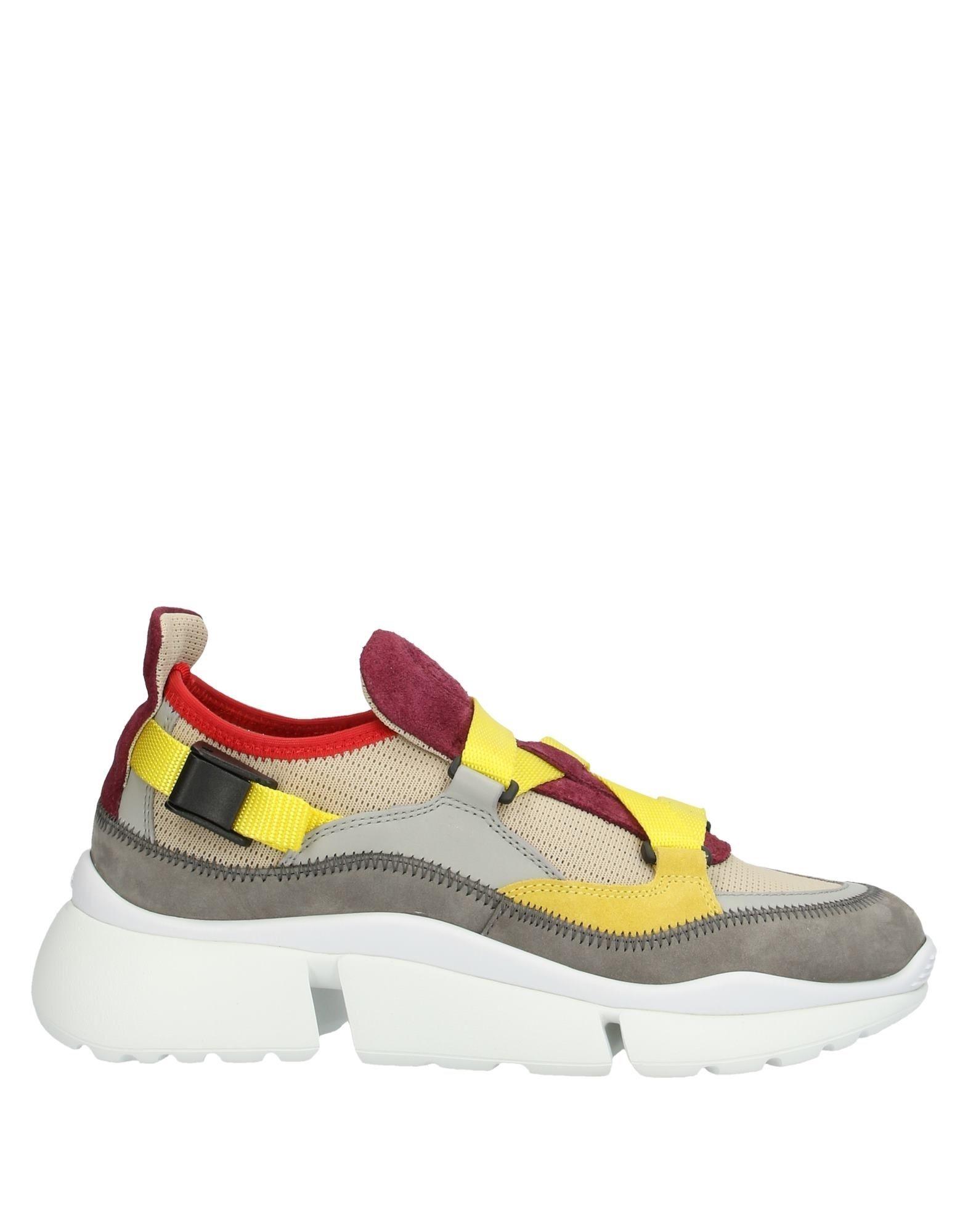 CHLOÉ Низкие кеды и кроссовки