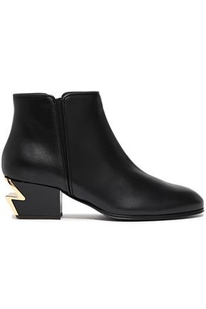 GIUSEPPE ZANOTTI G-Heel leather ankle boots