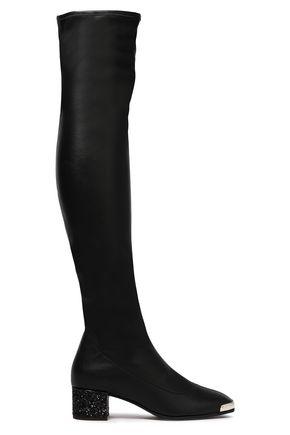 GIUSEPPE ZANOTTI Gabriella stretch-leather over-the-knee boots