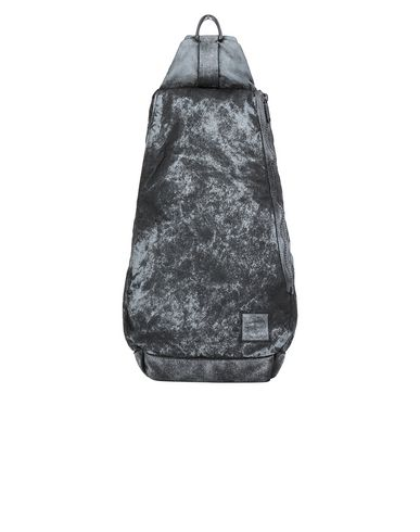 STONE ISLAND 91470 COMPACTED NYLON GARMENT DYED WITH DUST COLOUR FINISH Backpack Man Black USD 443