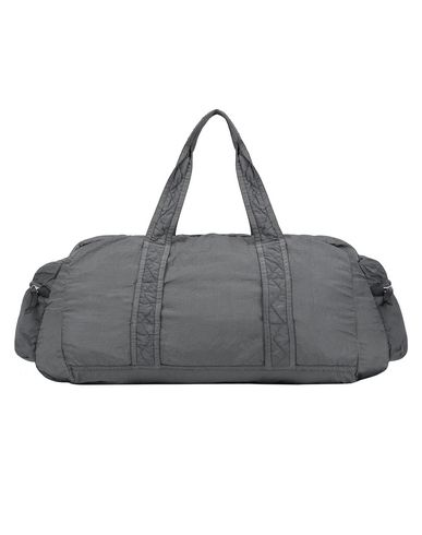 STONE ISLAND 91035 NYLON METAL WATRO RIPSTOP_PACKABLE Travel & duffel bag Man Blue Grey EUR 126