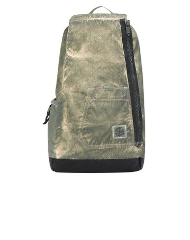STONE ISLAND 91270 COMPACTED NYLON GARMENT DYED WITH DUST COLOUR FINISH Rucksack Man Beige EUR 379