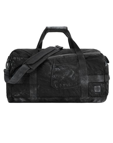STONE ISLAND 91370 COMPACTED NYLON GARMENT DYED WITH DUST COLOUR FINISH Travel & duffel bag Man Black EUR 362