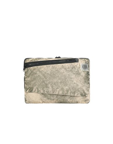 STONE ISLAND 91570 COMPACTED NYLON GARMENT DYED WITH DUST COLOUR FINISH Laptop case Man Beige EUR 167