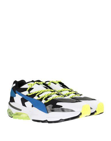 Фото 2 - Низкие кеды и кроссовки от PUMA x LES BENJAMINS белого цвета