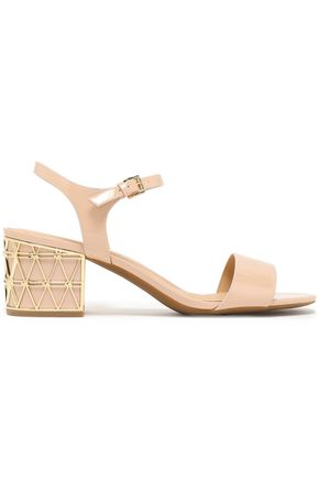 MICHAEL MICHAEL KORS Beekman embellished patent-leather sandals