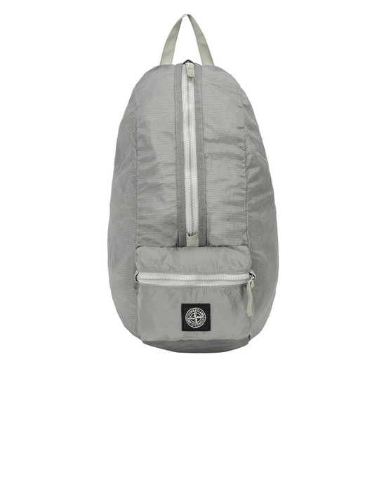 STONE ISLAND 90932 NYLON METAL WATRO RIPSTOP_PACKABLE-TC  Backpack Man Dust Gray
