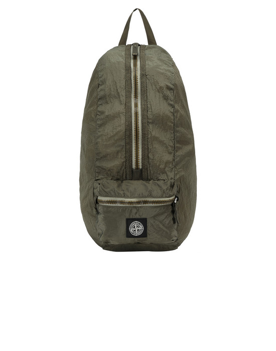 STONE ISLAND 90932 NYLON METAL WATRO RIPSTOP_PACKABLE-TC  Backpack Man Olive Green