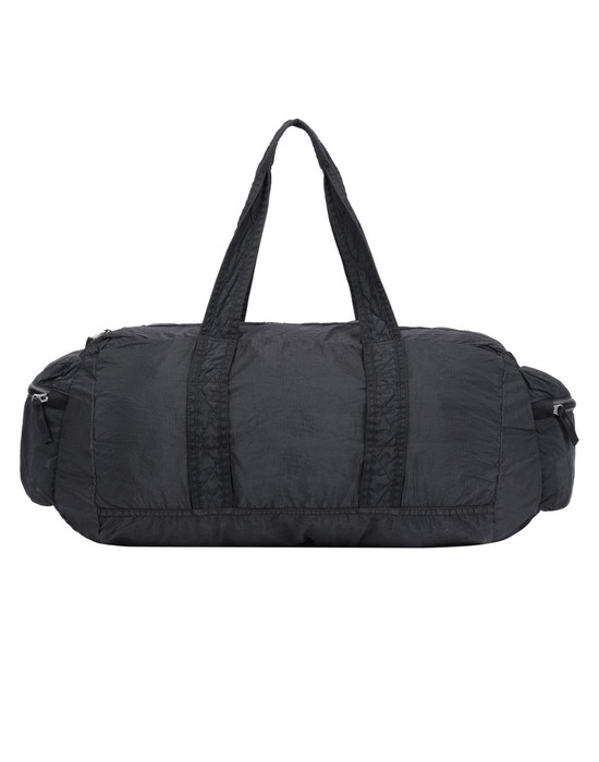 STONE ISLAND 91032 NYLON METAL WATRO RIPSTOP_PACKABLE-TC  Travel & duffel bag Man Black