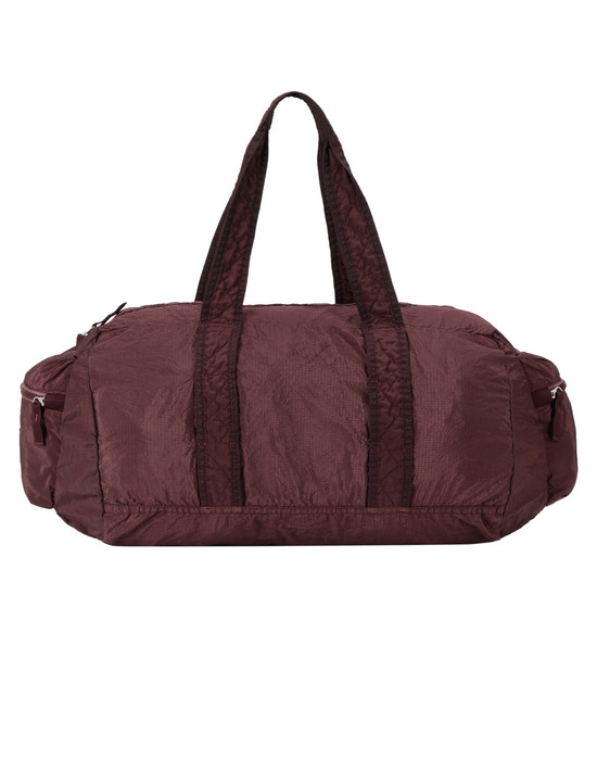 STONE ISLAND 91032 NYLON METAL WATRO RIPSTOP_PACKABLE-TC  Travel & duffel bag Man Dark Burgundy