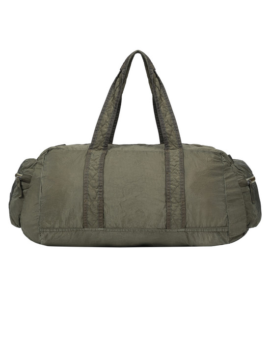 STONE ISLAND 91032 NYLON METAL WATRO RIPSTOP_PACKABLE-TC  Travel & duffel bag Man Olive Green
