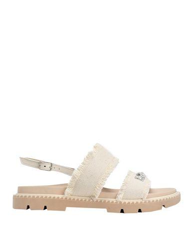 Купить Женские сандали JEANNOT белого цвета