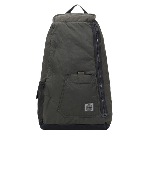 STONE ISLAND 91270 Backpack Man Olive Green