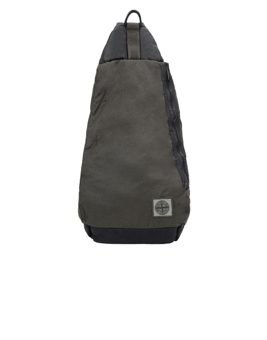 STONE ISLAND 91470 Backpack Man Olive Green
