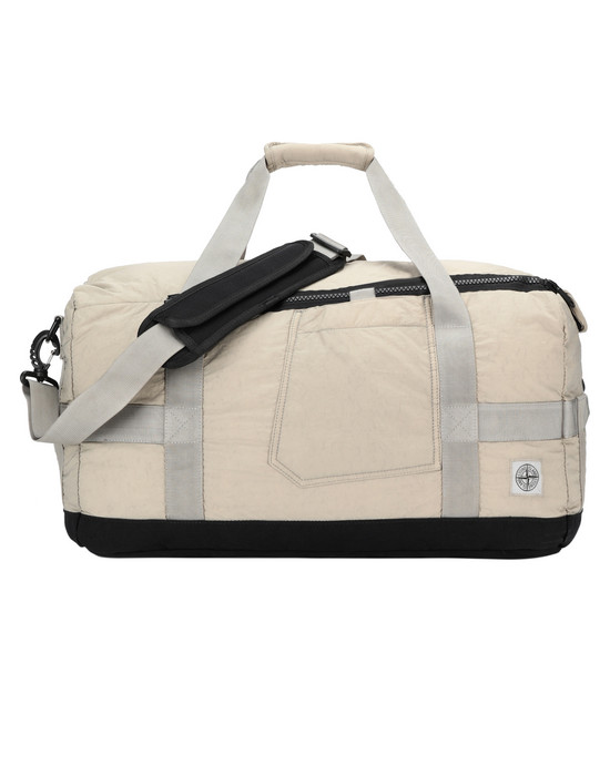 STONE ISLAND 91370 Travel & duffel bag Man Sand