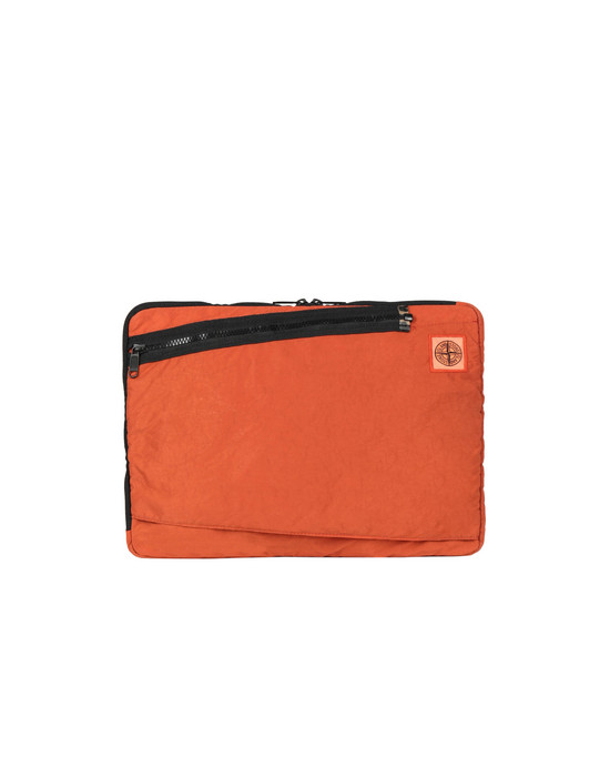 STONE ISLAND 91570 Laptop case Man Orange