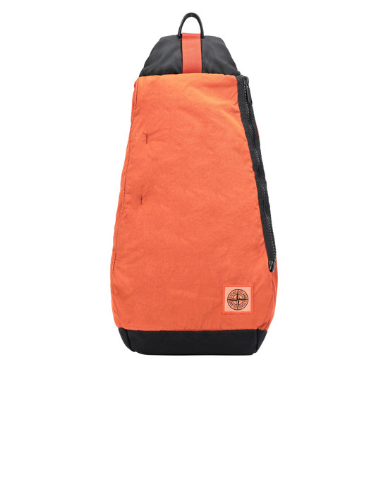 STONE ISLAND 91470 Backpack Man Orange