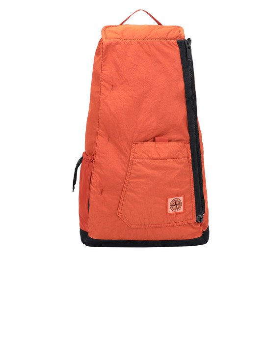 STONE ISLAND 91270 Backpack Man Orange