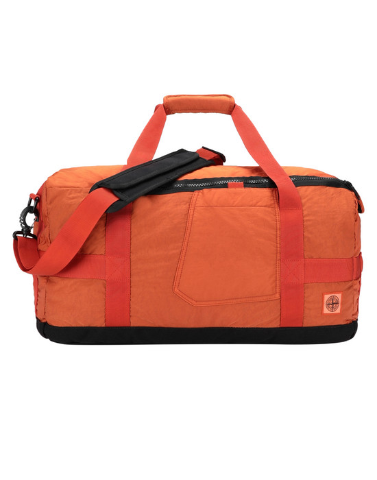 STONE ISLAND 91370 Travel & duffel bag Man Orange