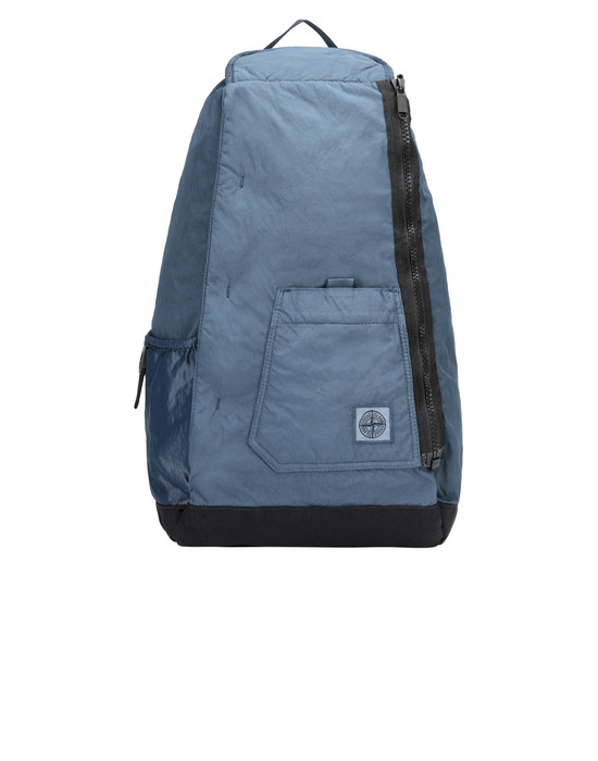 STONE ISLAND 91270 Backpack Man Avio Blue