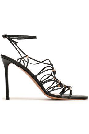 VALENTINO GARAVANI Rockstud lace-up leather sandals