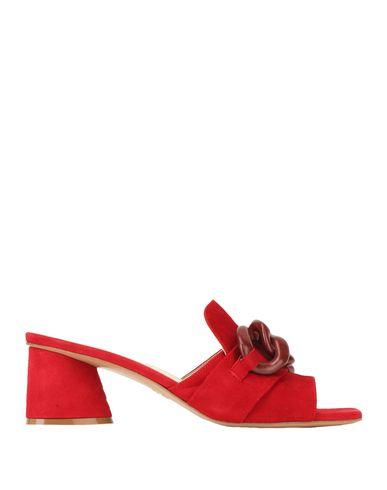 Купить Женские сандали JEANNOT красного цвета