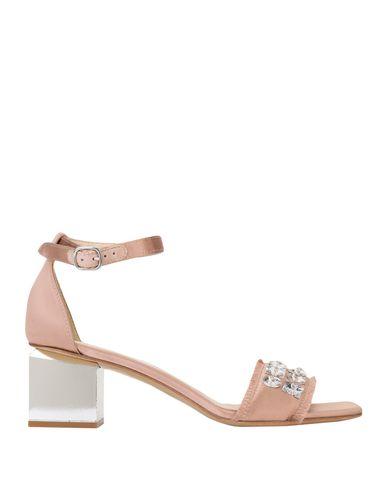 Купить Женские сандали JEANNOT пастельно-розового цвета