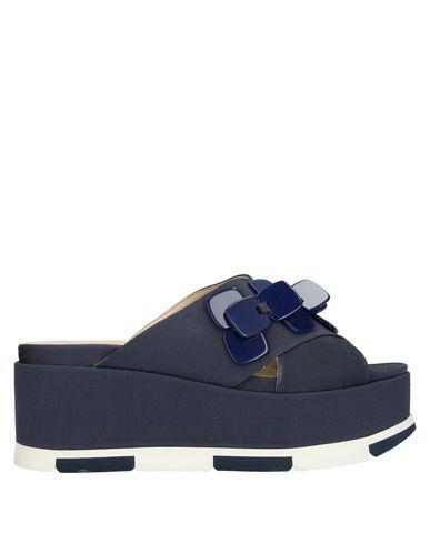 Купить Женские сандали JEANNOT темно-синего цвета