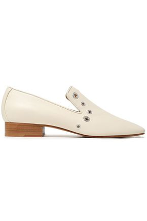 RAG & BONE Tate studded leather loafers
