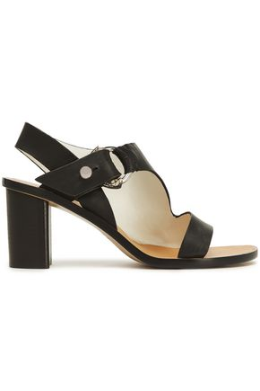 RAG & BONE Embellished two-tone leather sandals