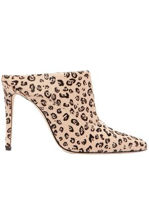 ALTUZARRA Davidson leopard-print calf hair mules