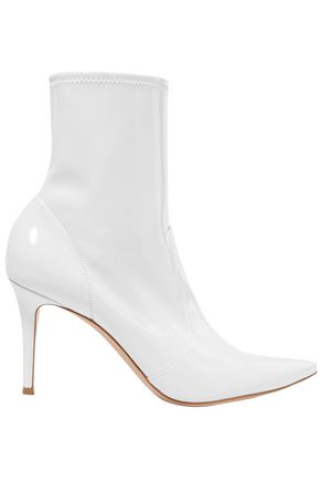GIANVITO ROSSI 85 patent-leather ankle boots