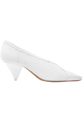 NEOUS Pleau woven leather pumps