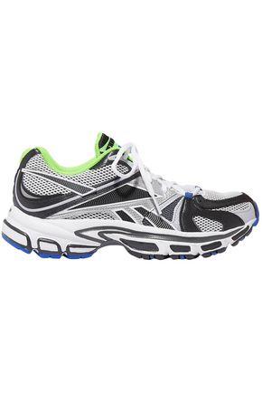 REEBOK x VETEMENTS + Reebok Runner 200 rubber-trimmed mesh sneakers