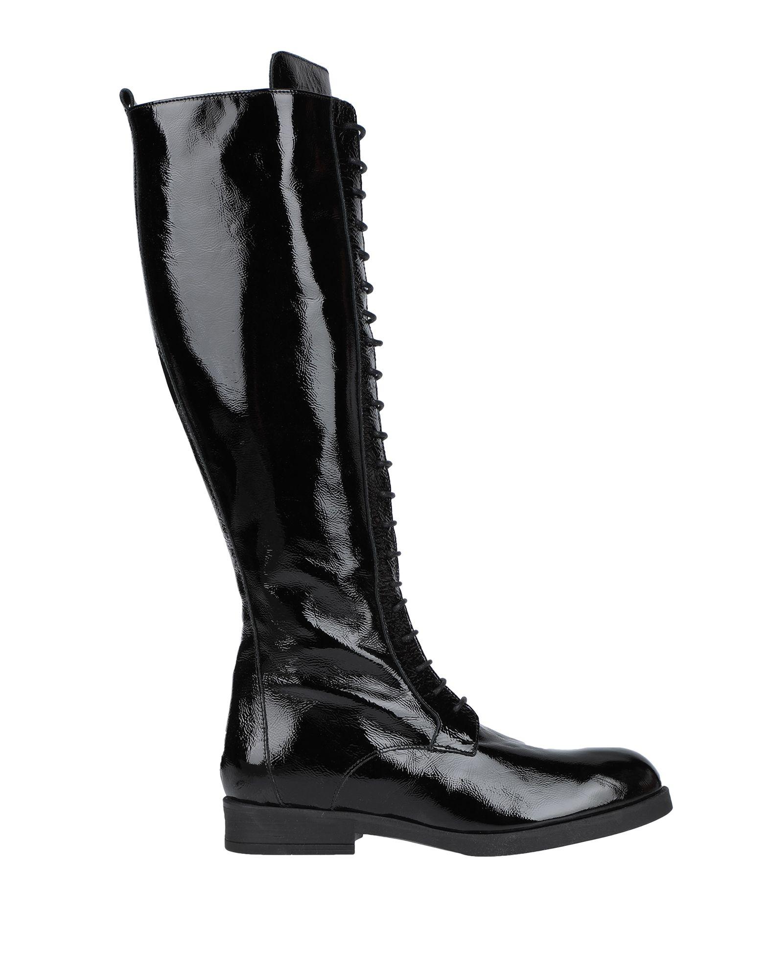 《セール開催中》FRANCESCO MINICHINO レディース ブーツ ブラック 39 革