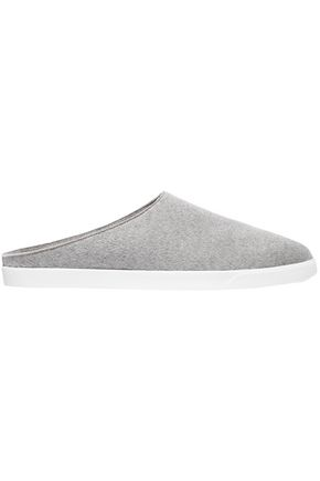 THE ROW Eric cashmere slippers