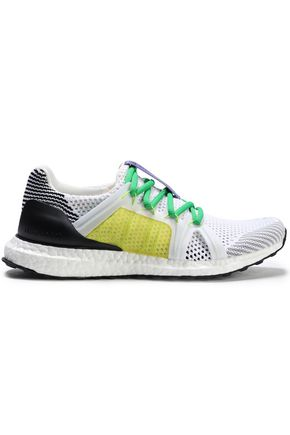 ADIDAS by STELLA McCARTNEY Ultra Boost paneled color-block mesh sneakers