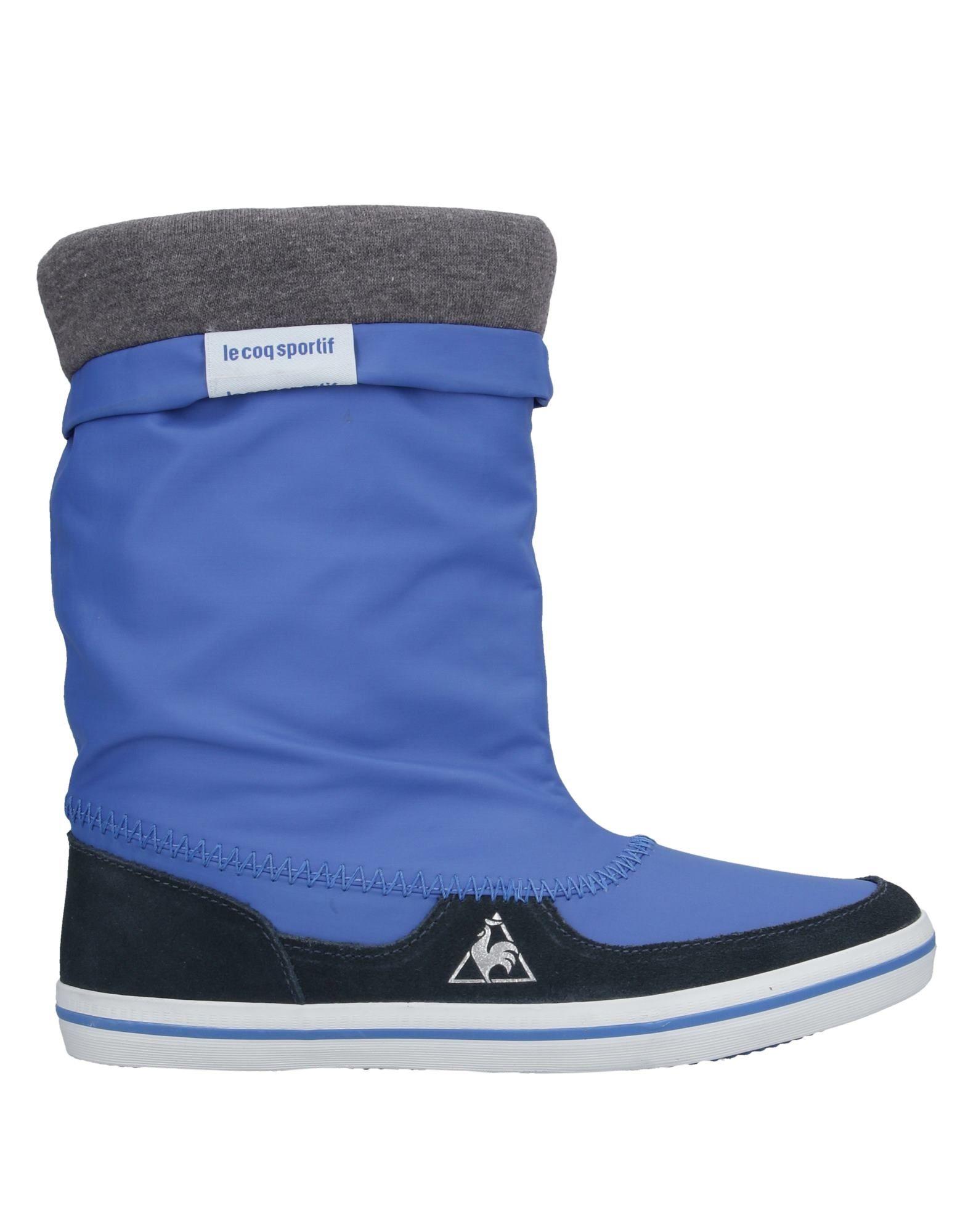 《セール開催中》LE COQ SPORTIF レディース ショートブーツ ブライトブルー 39 紡績繊維 / 革