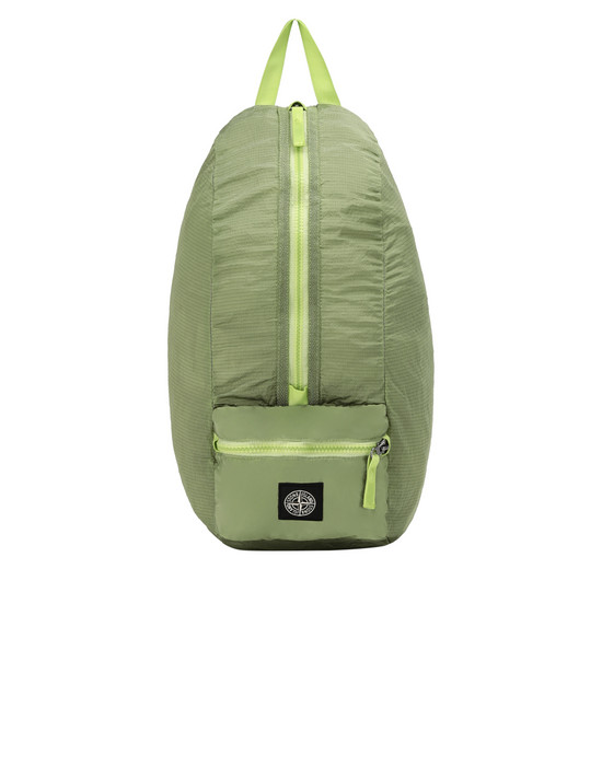 STONE ISLAND 90932 NYLON METAL WATRO RIPSTOP_PACKABLE-TC  Backpack Man Pistachio Green