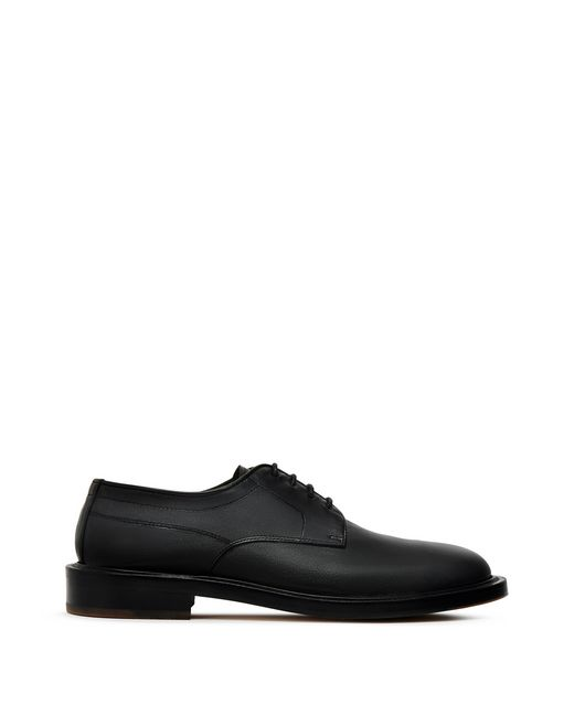 LAMBSKIN NAPPA LEATHER DERBY SHOE - Lanvin